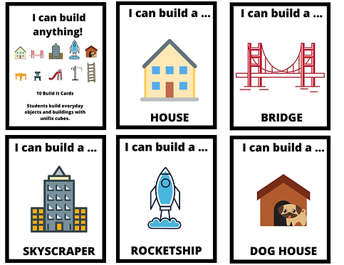 STEM Engineering - Building Cards            I can build anything!