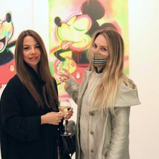Misha and Natasha at the Exhibition