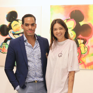 UNOFEX Director Deivis H Valdes and Artist Moira Musio