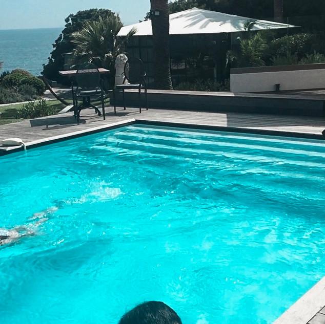 Angelika Augusta Diamond - Pool Scene