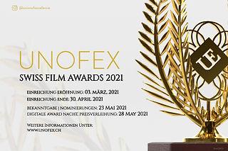 UNOFEX Swiss Film Awards 2021 - Informat