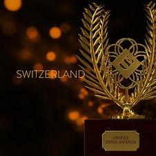 UNOFEX Swiss Awards Square Red Switzerla