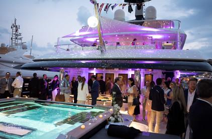 Deivis H Valdes at the Monaco Yacht Show
