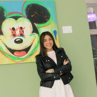 Artist Moira Musio - Portrait for UNOFEX