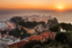 SUNSET IN MONTE CARLO