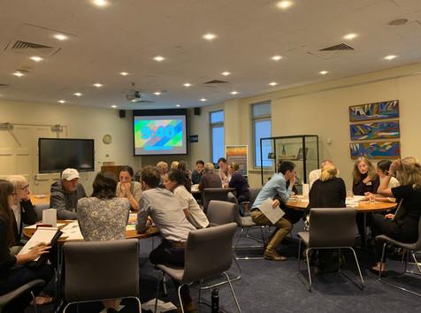 Facilitating a key stakeholder workshop