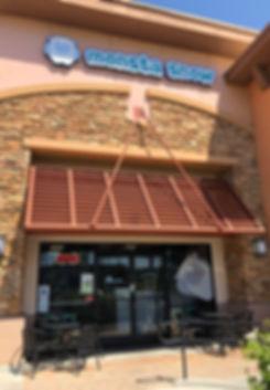 monsta snow store front, murrieta, temecula, boba shop