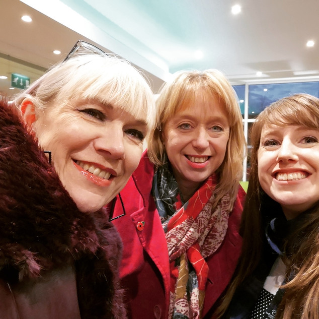 Harriet, Suzanne and Morag