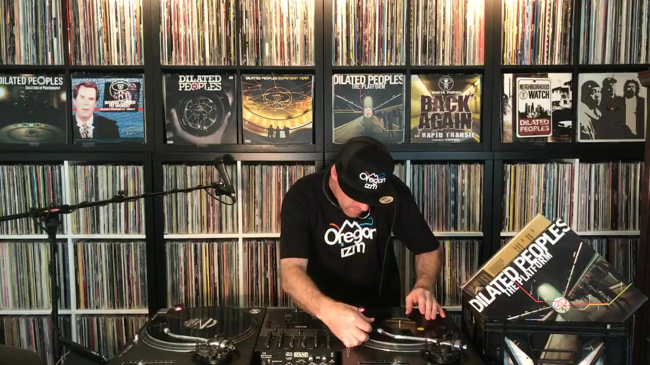 DJ Wicked spinning Hip-Hop classics by DILATED PEOPLES! ....Tune in, share, comment, & enjoy! ✌️❤️🙏