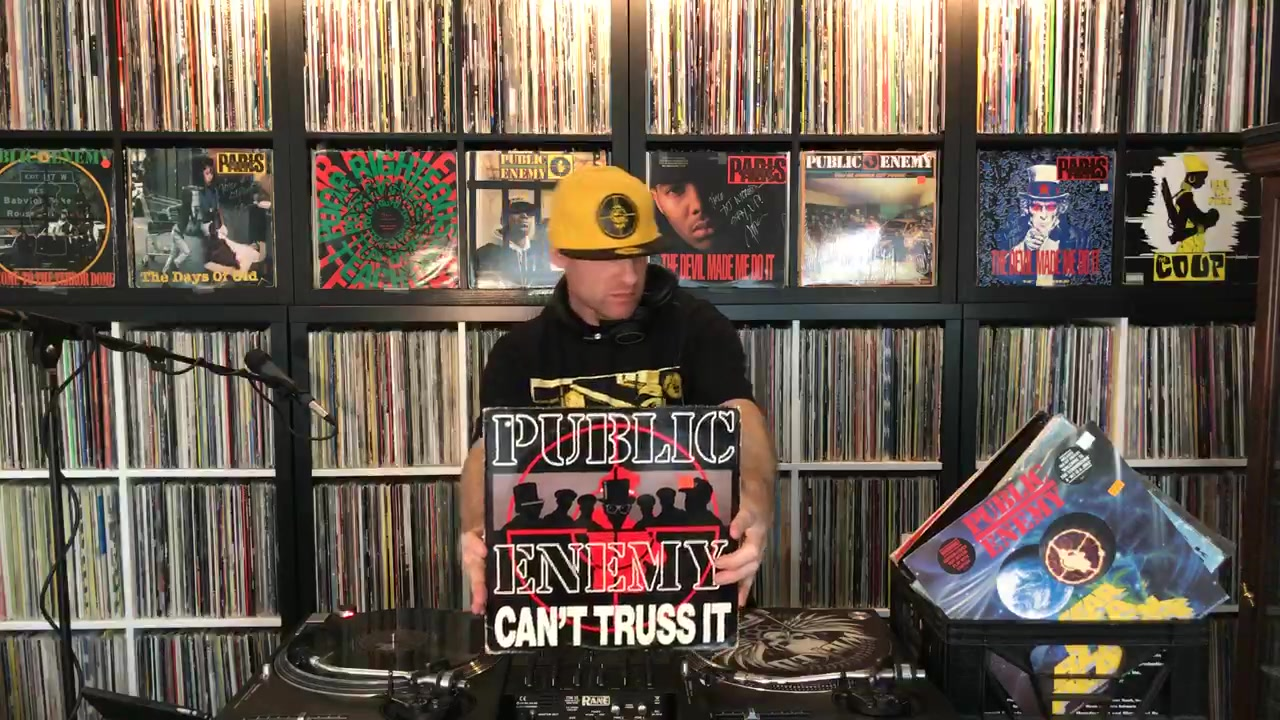 DJ Wicked spinning conscious, justified, Afrocentric Hip-Hop!