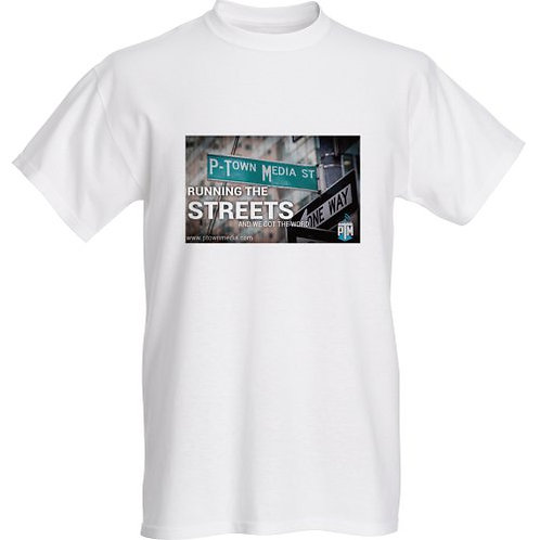 P-Town Media Running The Streets Graphic Tee