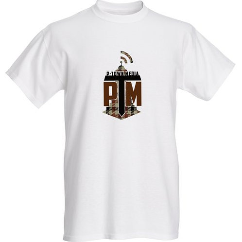 P-Town Media Coffee Logo Tee