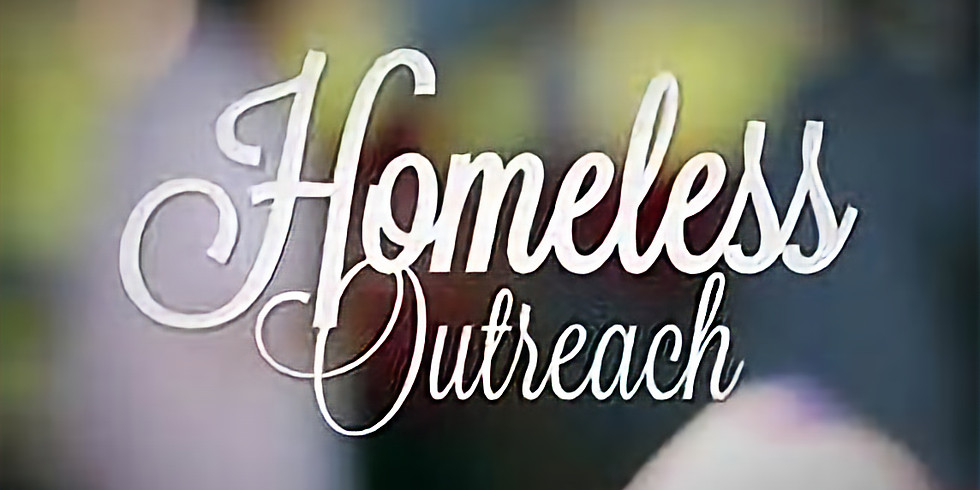 Homeless Ministry goes out every 2nd Saturday of the month