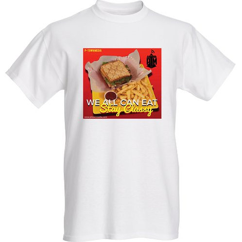 P-Town Media We All Can Eat Graphic Tee