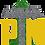 Thumbnail: P-Town Media Turf Logo Tee