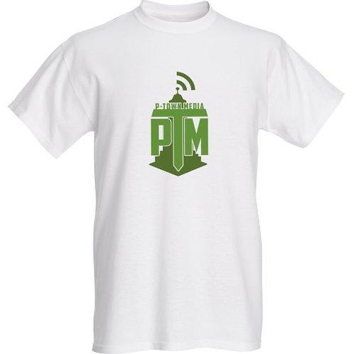 P-Town Media Green Logo Tee