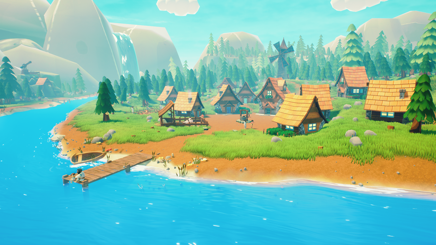A thriving Human village