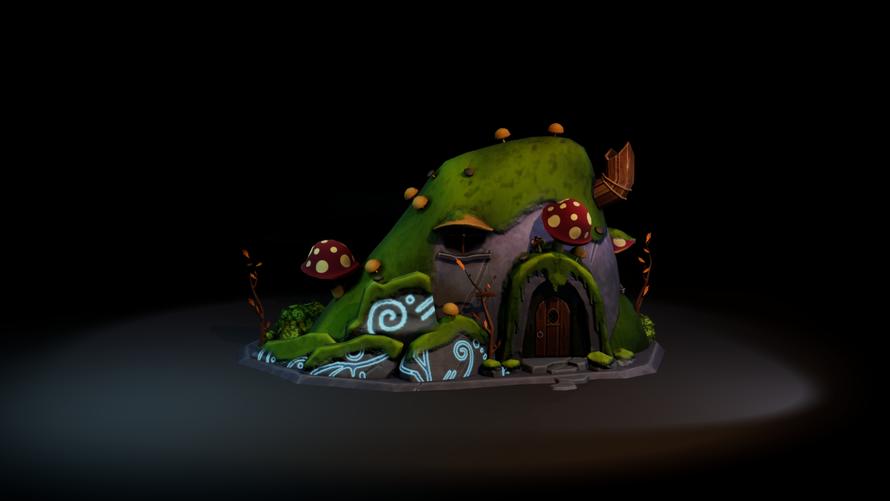 An Elven Level 2 House