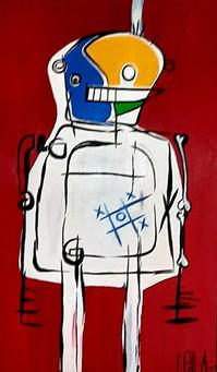 Daddy Robot, by Leila Garde