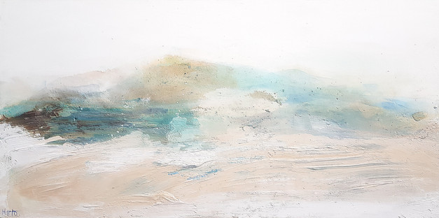 Abstract Hout Bay, Seascape by Marlo Hamman