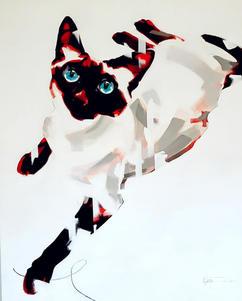 Burmese Cat by David Thorpe