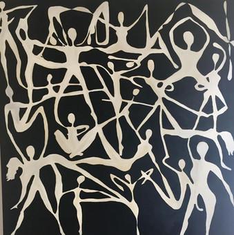 The Dance,by Leila Garde