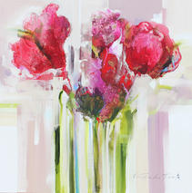 Spring Flowers by Frances Schandera-Duarte