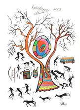 VETKAT KRUIPER  |  The Rhino Tree - Tsunkwe