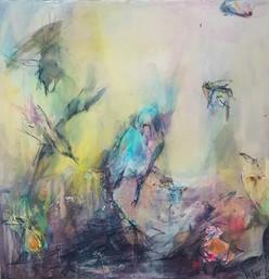 Blue Flamingoes, Marlo Hamman