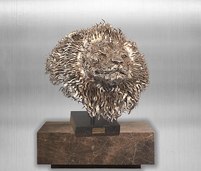 Fortune Favours the Bold:  Sculpture in Stainless Steel by Thomas van Gylswyk