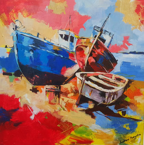 Hout Bay Harbour, by Only Mpofu