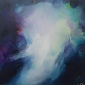 Abstract Cosmos, by Marlo Hamman