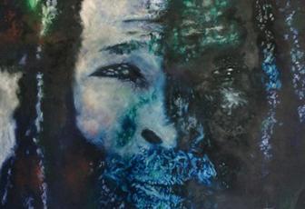 Portrait of Christie - Community Khoi Leader by Jenny Fox McCay