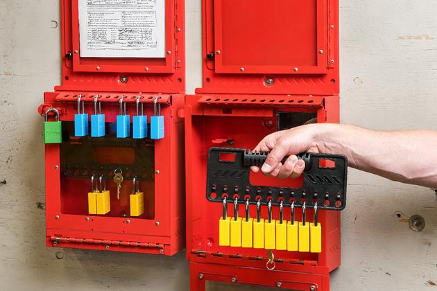 Master Lock S3500 permit control station