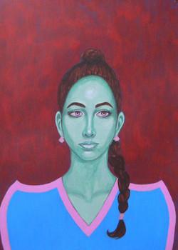 Sonia - Portrait imaginaire d'une voyageuse de l'espace.