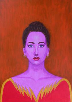 Rebecca - Portrait imaginaire d'une voyageuse de l'espace.