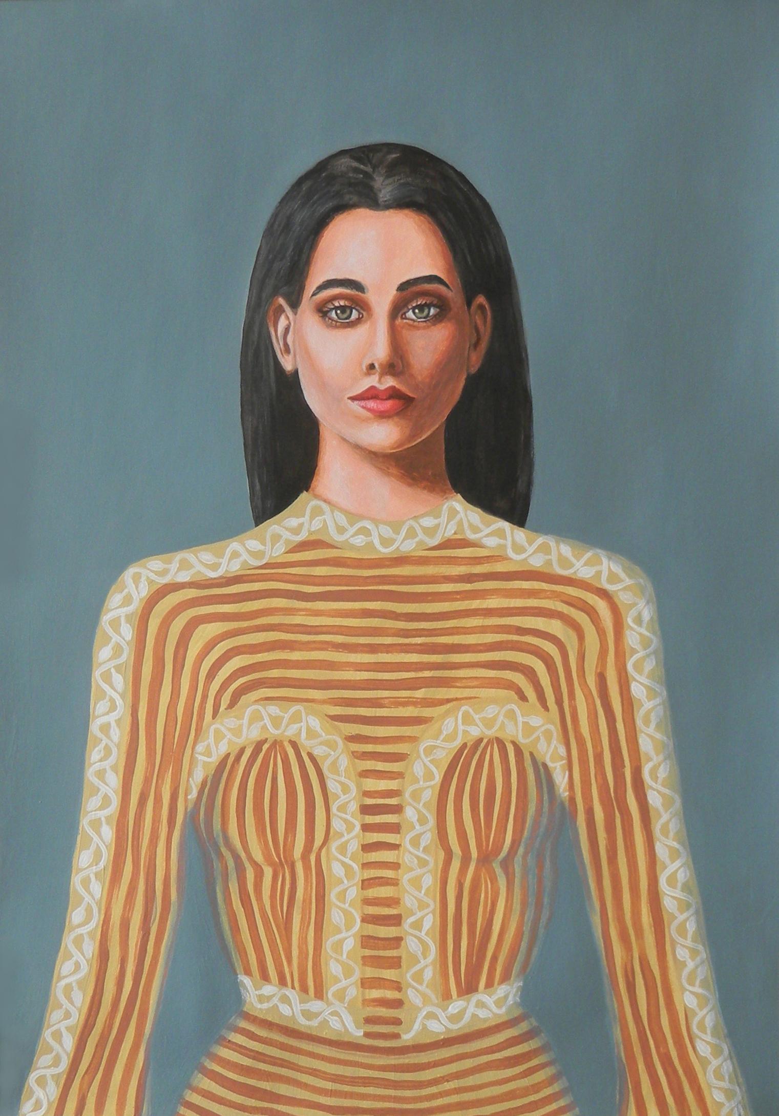 Inès - Portrait imaginaire