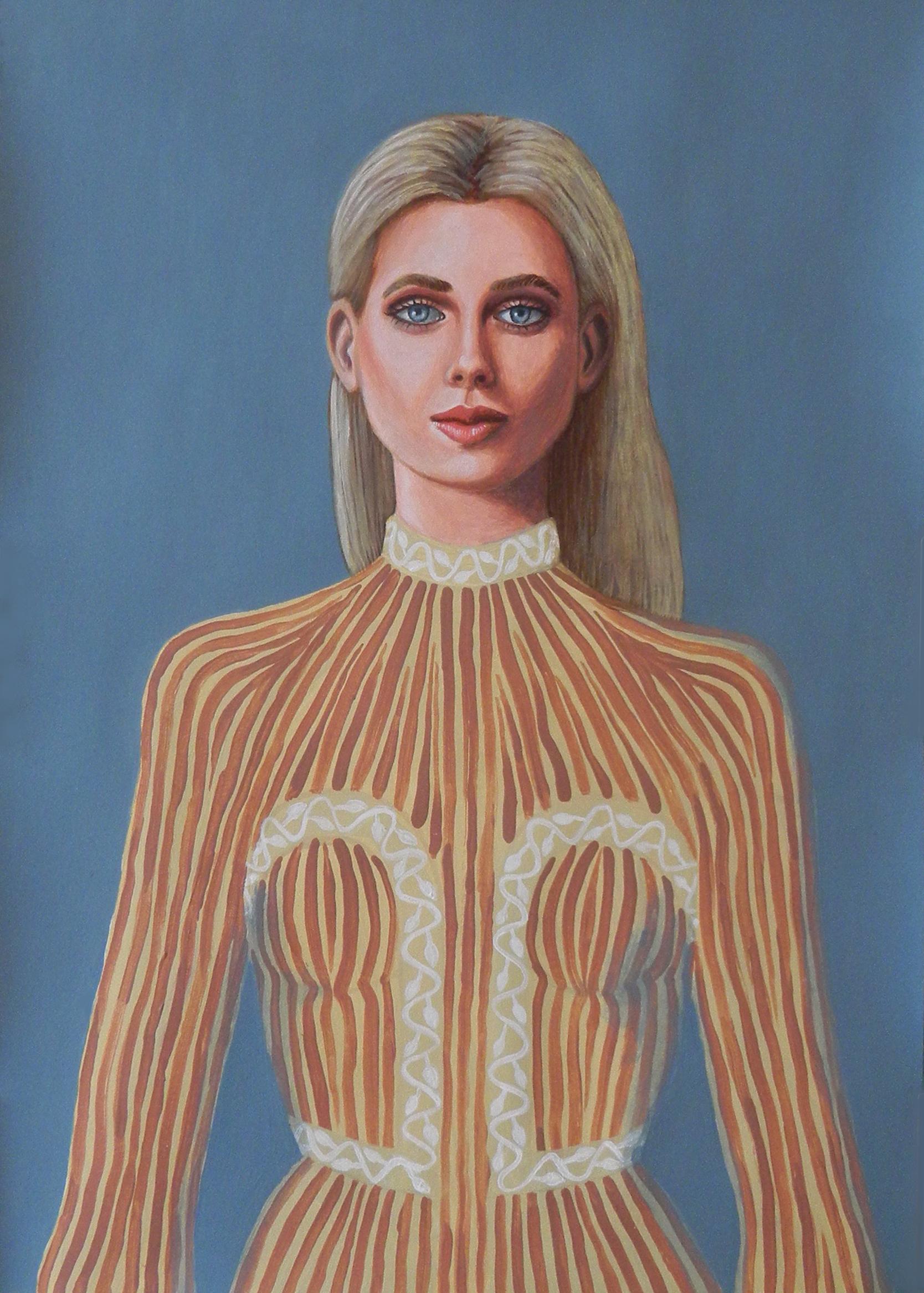 Claire - Portrait imaginaire