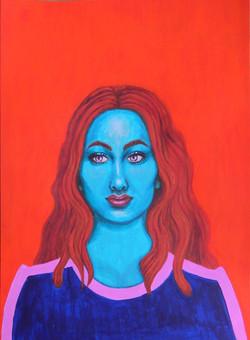 Karen - Portrait imaginaire d'une voyageuse de l'espace.