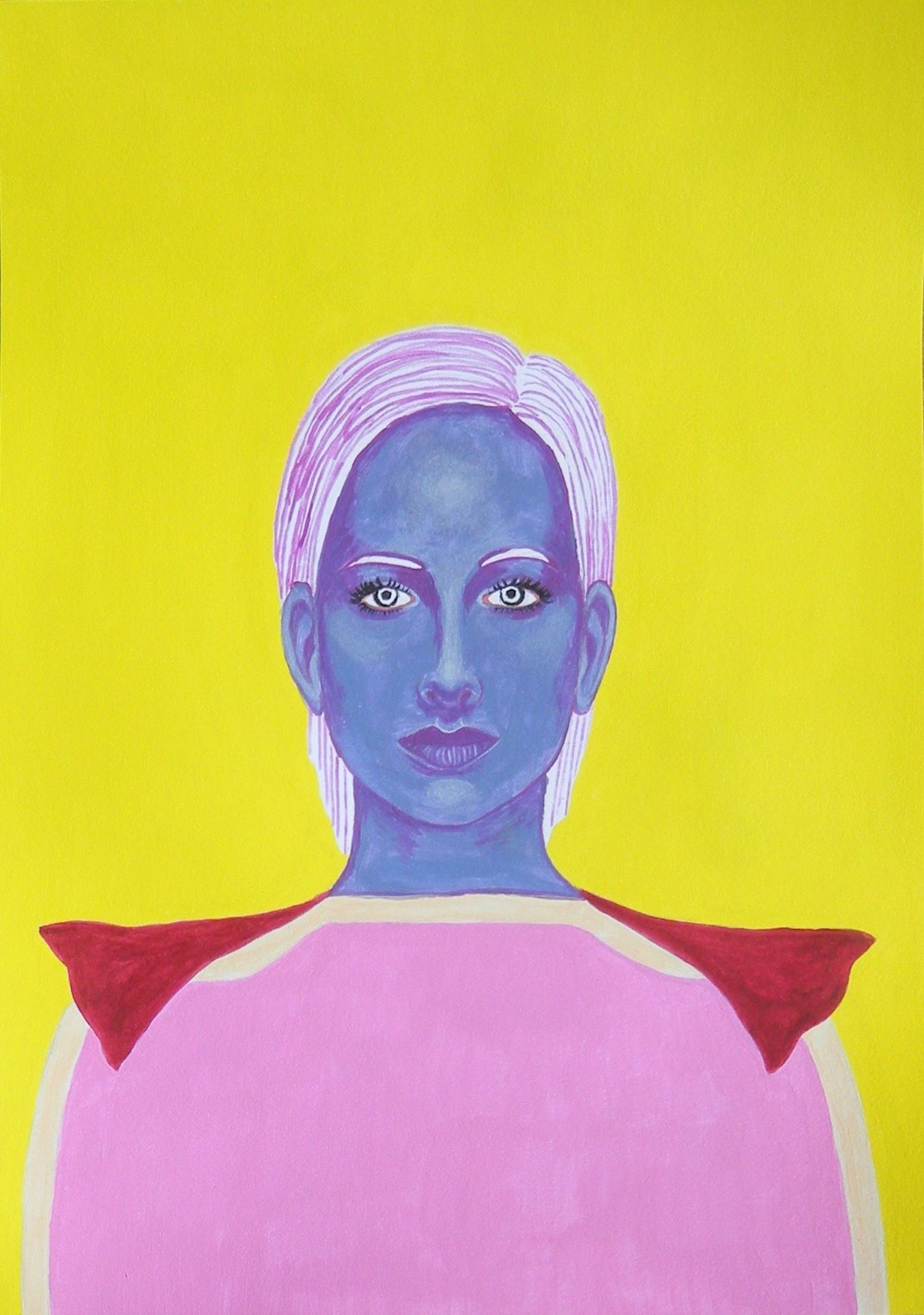 Iris - Portrait imaginaire d'une voyageuse de l'espace.