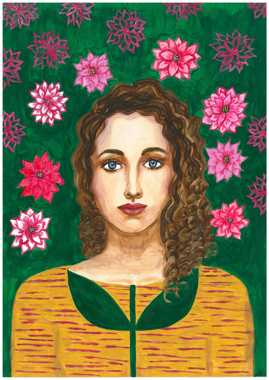 Flora  - Portrait imaginaire