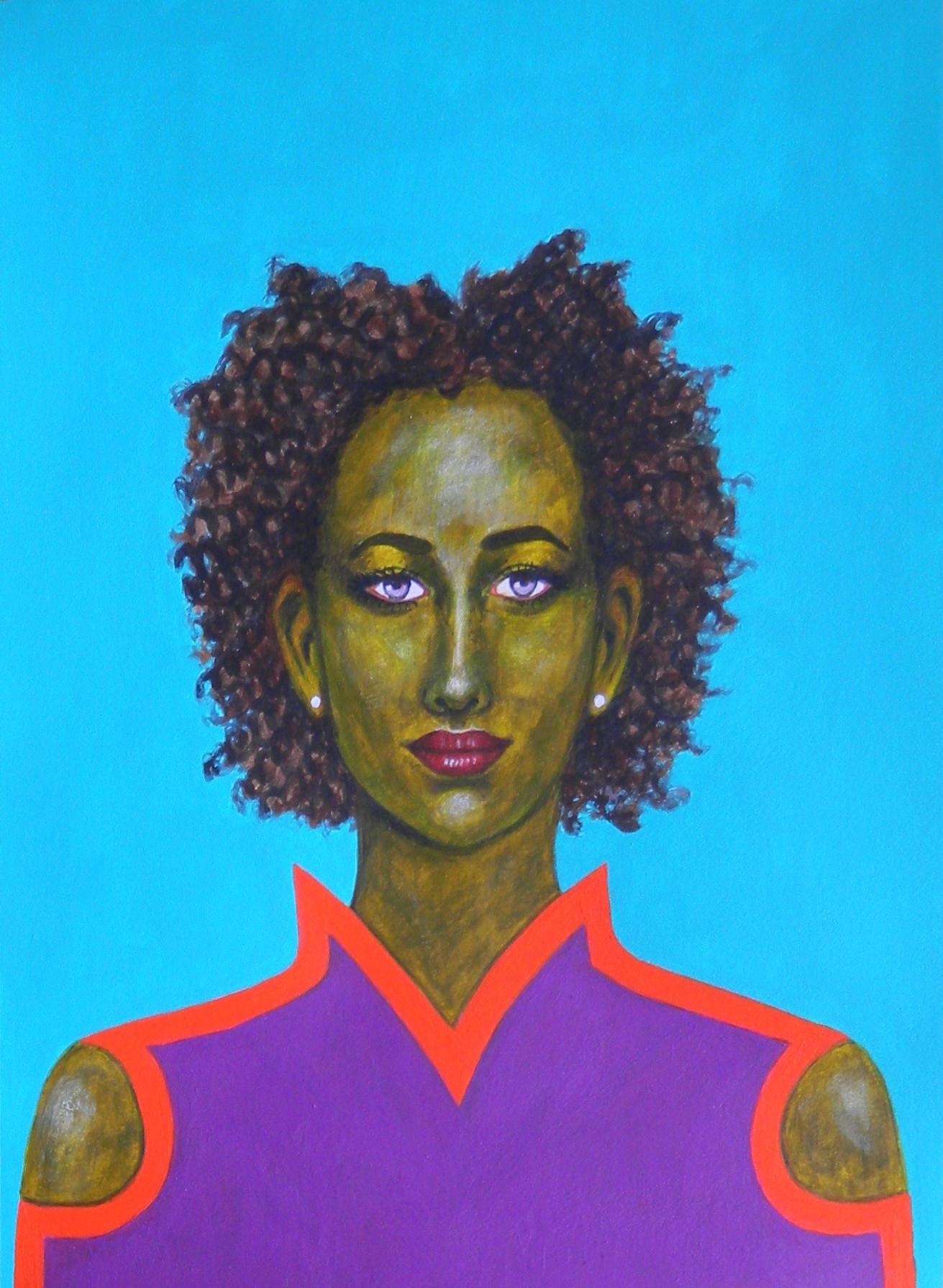 Kendra - Portrait imaginaire d'une voyageuse de l'espace.
