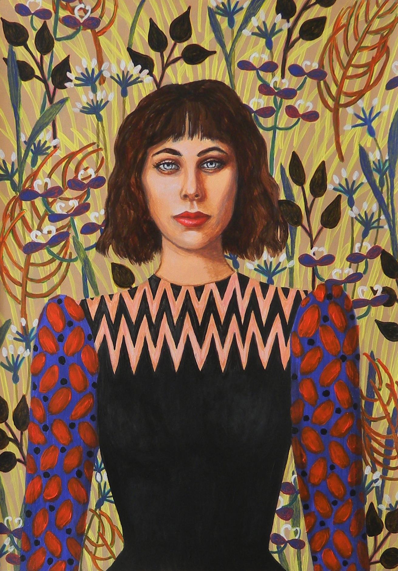 Amandine  - Portrait imaginaire