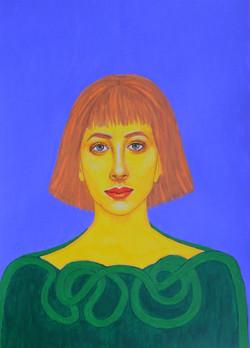 Peggy  - Portrait imaginaire d'une voyageuse de l'espace.