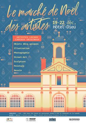Le Marché de Noël des Artistes 2019
