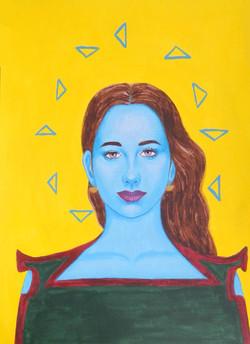 Sandra - Portrait imaginaire d'une voyageuse de l'espace.