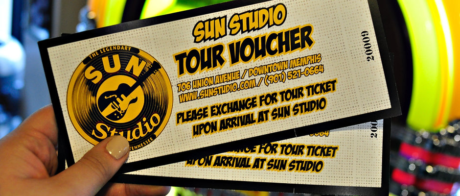 Tour Voucher - Will Be Mailed To you