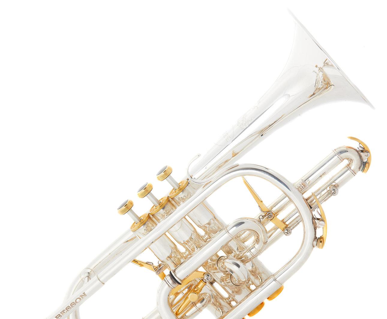 cornet brass instrument