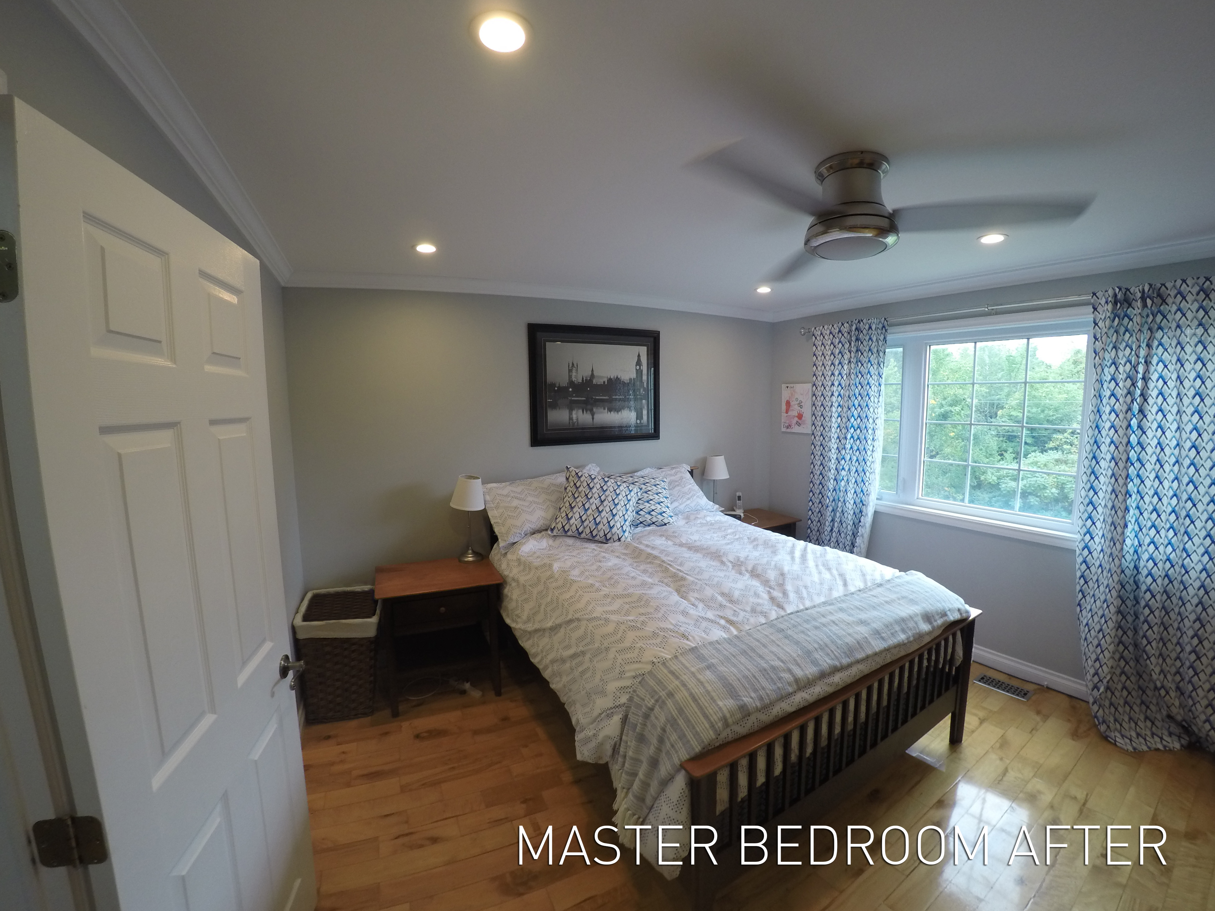 BroLaws Master Bedroom After
