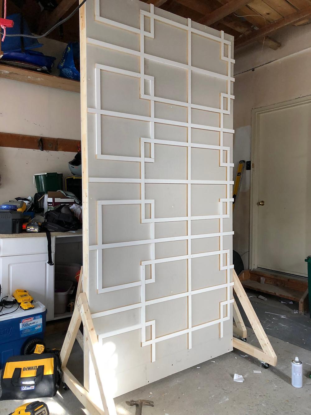 Metrie wall trim